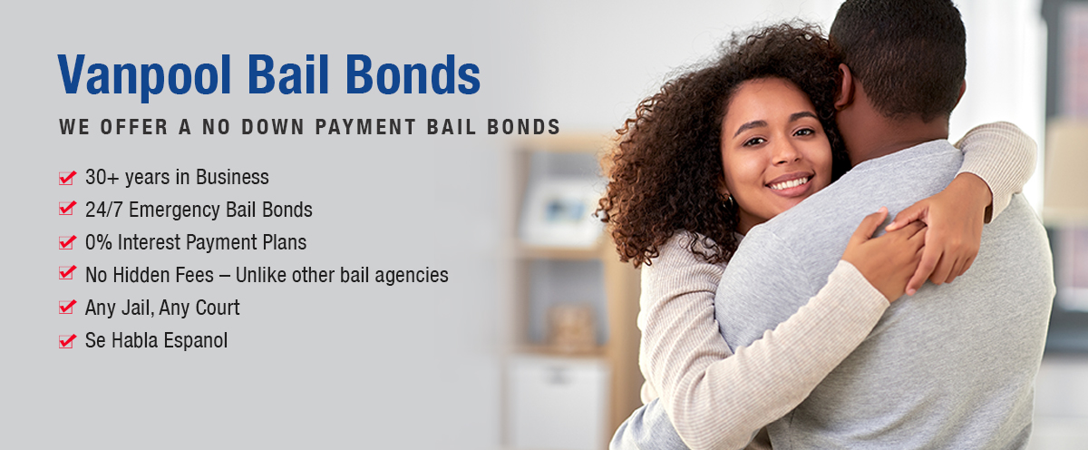 VANPOOL BAIL BONDS – RICHMOND CA BAIL BONDS